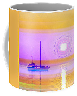 Coffee Mug featuring the photograph The Drifters Dream by Holly Kempe