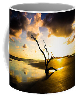 The Driftwood Tree Folly Beach Coffee Mug