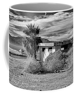 Coffee Mug featuring the photograph The Dying Sea by Michael Pickett