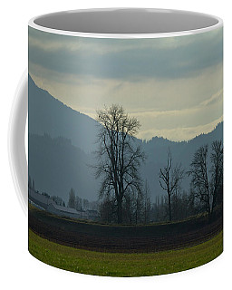 Coffee Mug featuring the photograph The Eagle Tree by Eti Reid