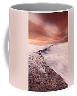 The Edge Of Earth Coffee Mug