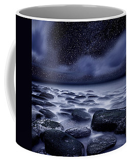 Coffee Mug featuring the photograph The Edge Of Forever by Jorge Maia