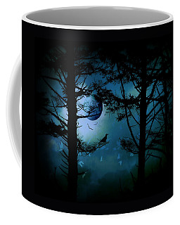 The Edge Of Twilight  Coffee Mug by Micki Findlay