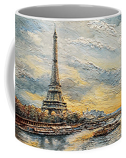 The Eiffel Tower- From The River Seine Coffee Mug