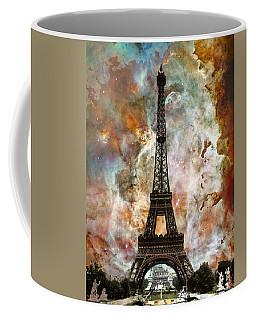 The Eiffel Tower - Paris France Art By Sharon Cummings Coffee Mug