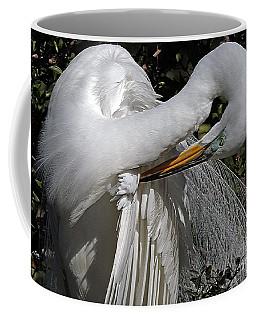 The Elegant Egret Coffee Mug by Lydia Holly