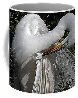 The Elegant Egret Coffee Mug