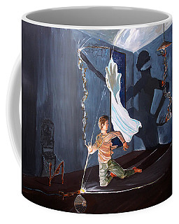 The Entity Of Fear Coffee Mug by Lazaro Hurtado