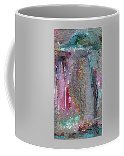 Coffee Mug featuring the painting The Entrance by Mary Wolf
