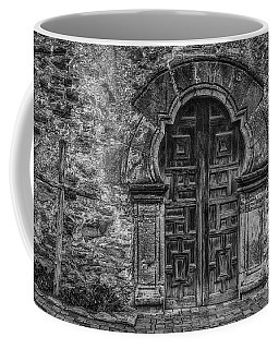 The Mission Door Coffee Mug