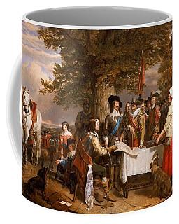 The Eve Of The Battle Of Edge Hill Coffee Mug