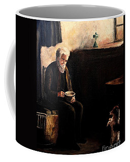 The Evening Meal Coffee Mug by Hazel Holland