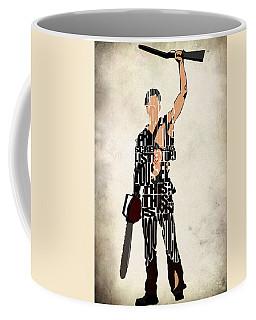 The Evil Dead - Bruce Campbell Coffee Mug by Ayse Deniz