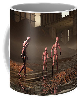 The Exiles Sojourn Coffee Mug by John Alexander