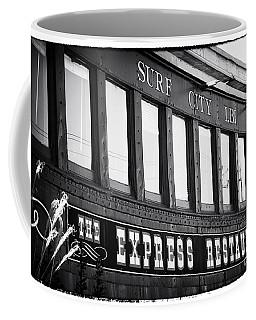 The Express Restaurant Black And White Coffee Mug