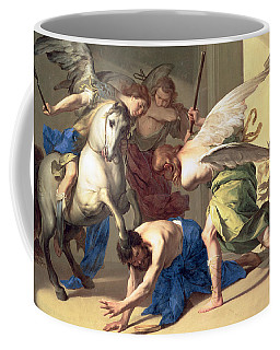 The Expulsion Of Heliodorus From The Temple Coffee Mug