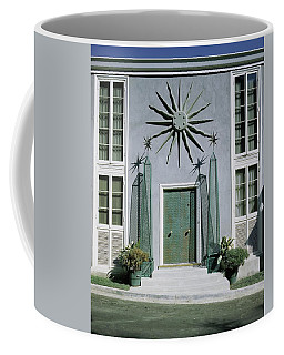 The Facade Of Tony Duquette's House Coffee Mug