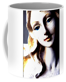 The Face Of A Woman Coffee Mug