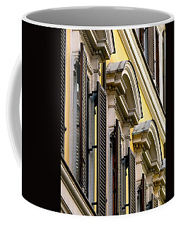 Coffee Mug featuring the photograph The Face  Of Rome by Ira Shander