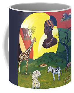 The Faces Of Africa Coffee Mug