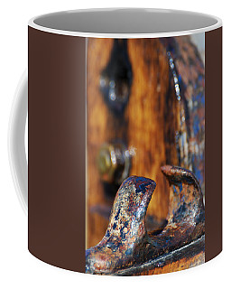 Coffee Mug featuring the photograph The Fairlead by Wendy Wilton