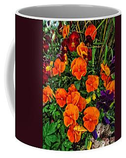 Fall Pansies Coffee Mug