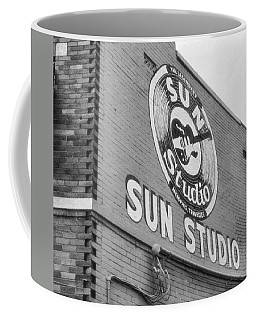 The Famous Sun Studio In Memphis Tennessee Coffee Mug