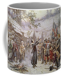 The First Sermon Ashore Coffee Mug