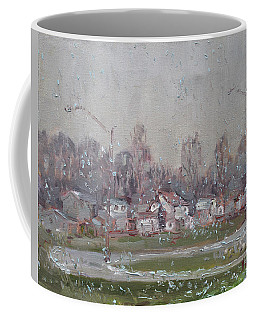 The First Snowflakes Of The Season  Coffee Mug