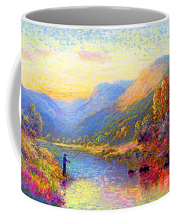 Fishing And Dreaming Coffee Mug