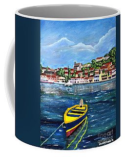The Fishing Boat  Coffee Mug