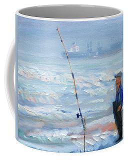 The Fishing Man Coffee Mug