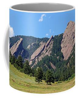 The Flatirons Coffee Mug
