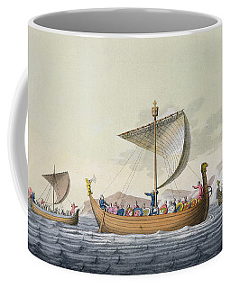 The Fleet Of William The Conqueror Coffee Mug
