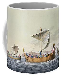 The Fleet Of William The Conqueror Coffee Mug