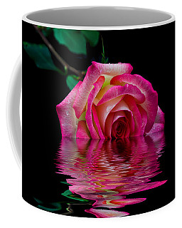 The Floating Rose Coffee Mug