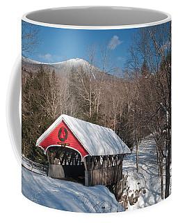 The Flume Bridge In Winter Coffee Mug