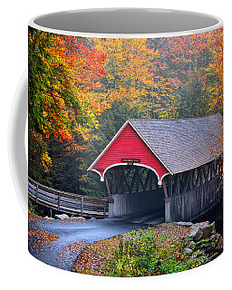 The Flume Covered Bridge Coffee Mug