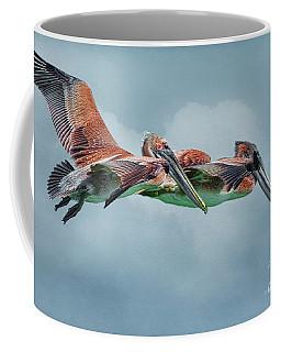 The Flying Pair Coffee Mug by Deborah Benoit