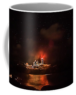Coffee Mug featuring the photograph The Fog Rolls In by Jeff Folger