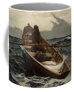 The Fog Warning .halibut Fishing Coffee Mug