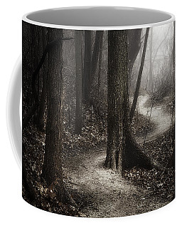 The Foggy Path Coffee Mug