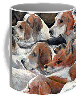 Fox Play Coffee Mug by Donna Tucker