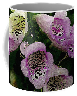 The Foxglove Coffee Mug by James C Thomas