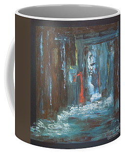Coffee Mug featuring the painting The Free Passage by Mini Arora