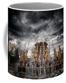 The Friendship Fountain Moscow Coffee Mug
