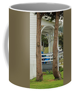Coffee Mug featuring the photograph The Front Porch by E Faithe Lester