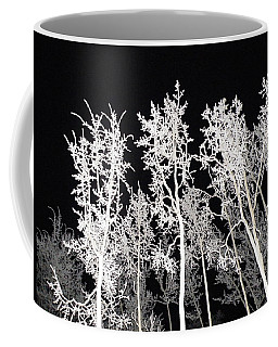 Coffee Mug featuring the photograph The Frost Gleams By Night by Brian Boyle