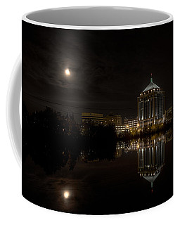 The Full Moon Over The Dudley Tower Coffee Mug