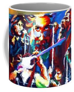 The Gang In Oils Coffee Mug by Kelly Awad